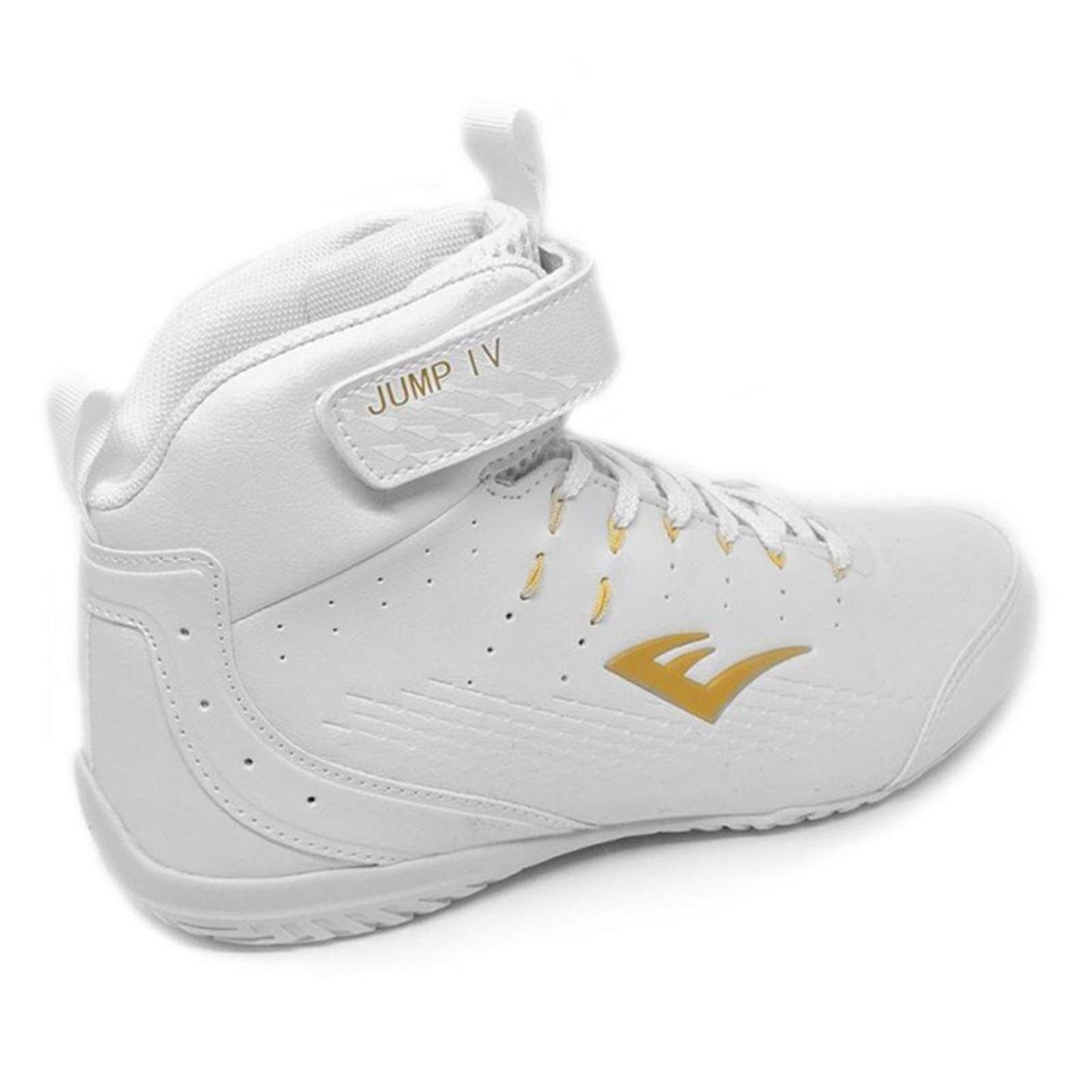 Tênis Everlast Jump IV Branco e Dourado  - Vitta Gold