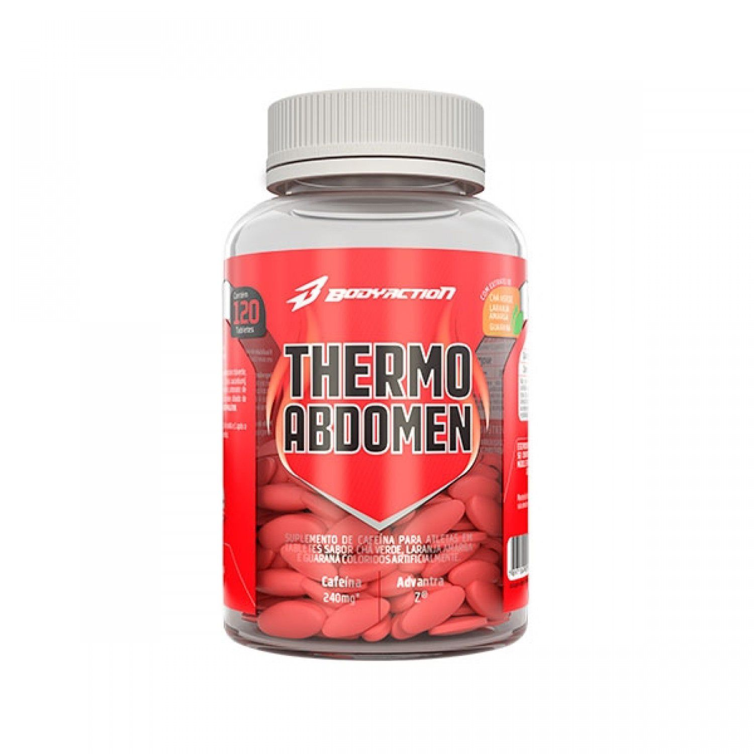 Thermo Abdomen 120 Cápsulas Body Action  - Vitta Gold