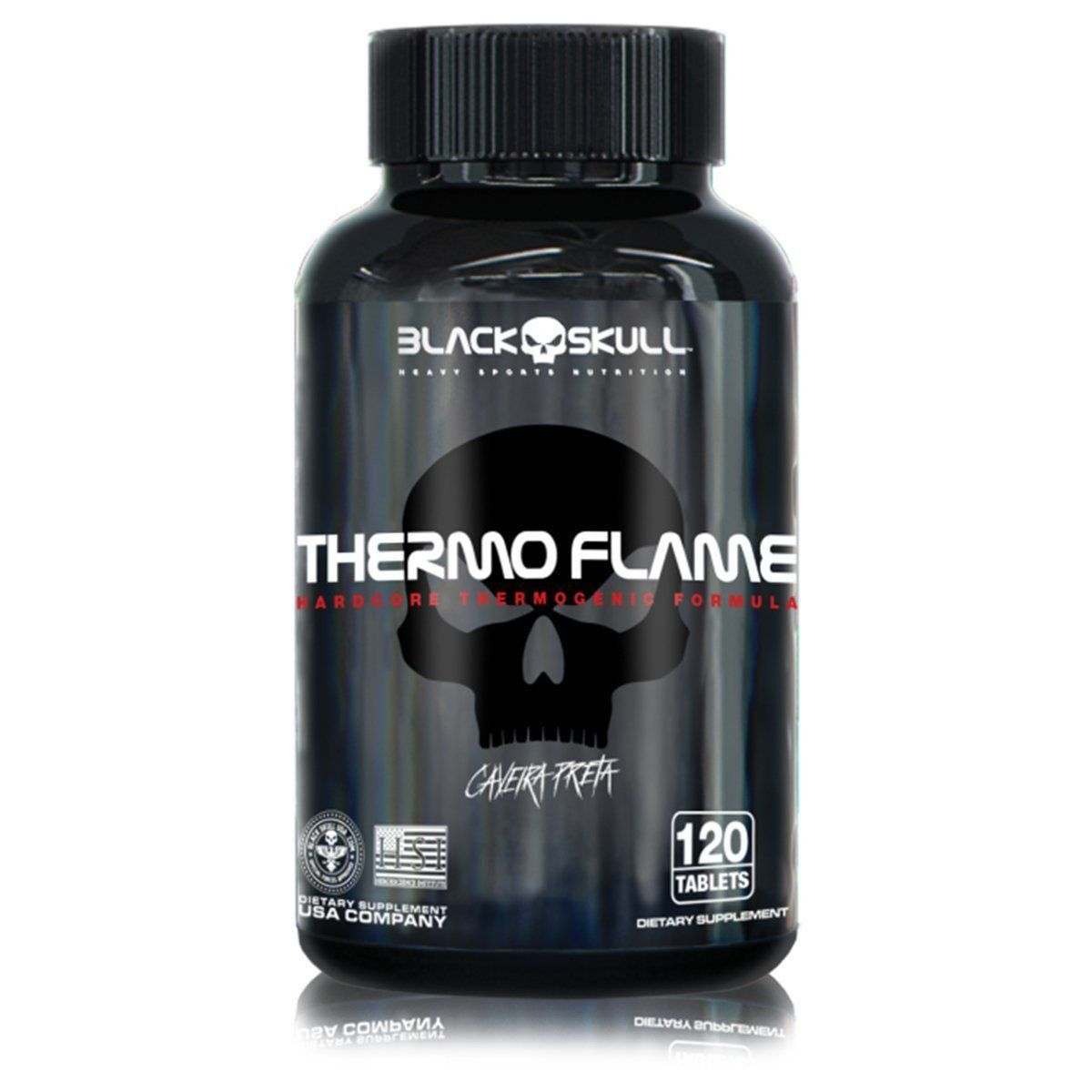 Thermo Flame 120 Tabletes Black Skull