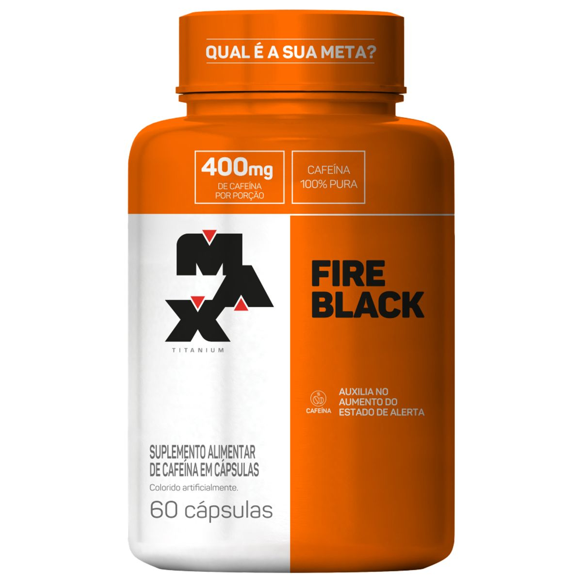 Ultimate Fire Black 60 Cápsulas Max Titanium