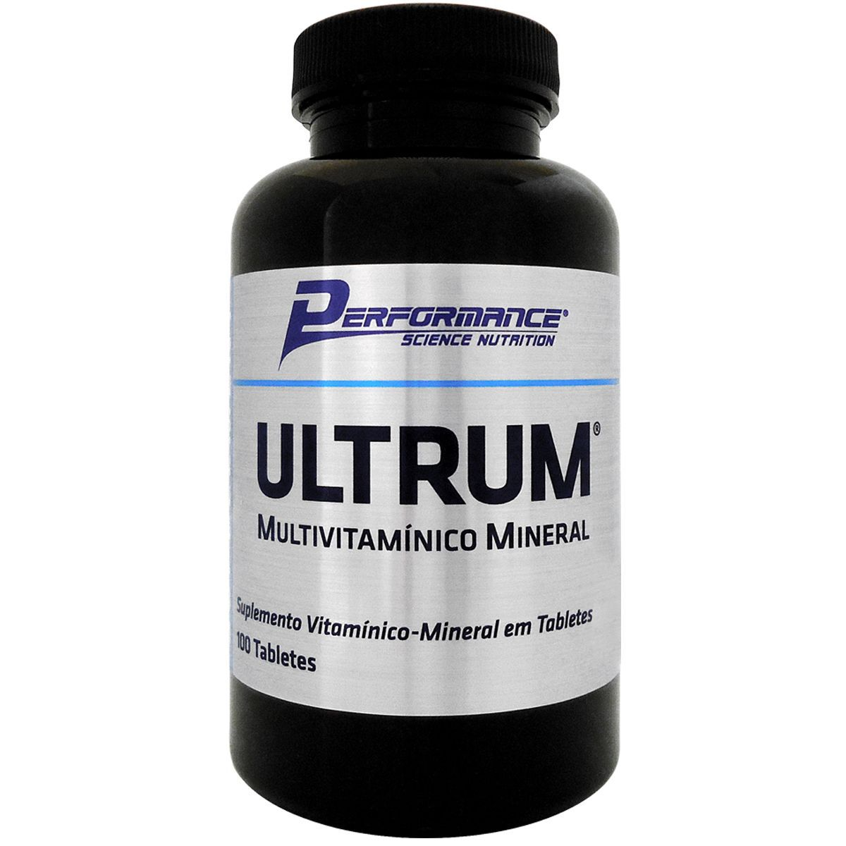 Ultrum Multivitamínico 100 Tabletes Performance Nutrition