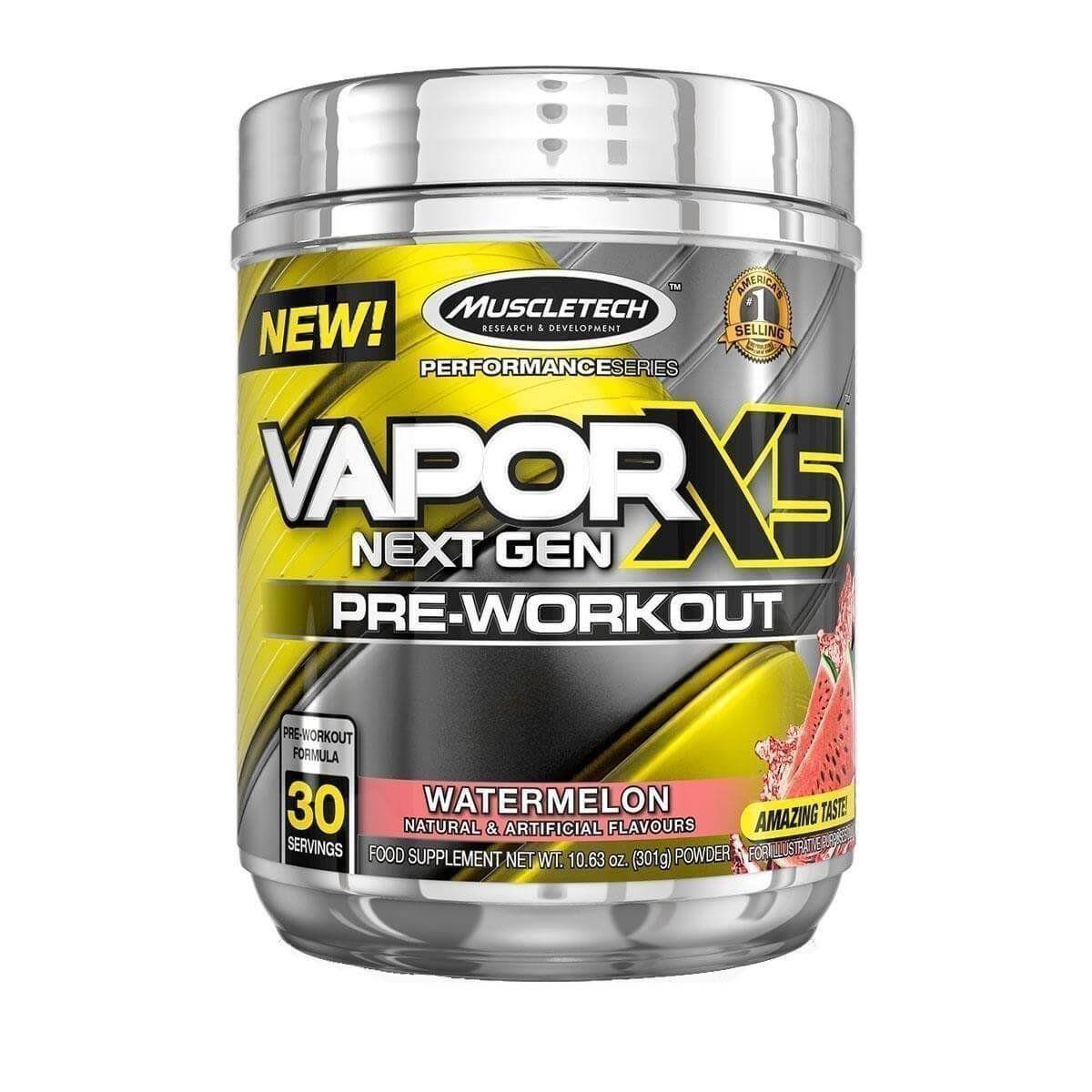 Vapor X5 301g Pre-Workout - Muscletech  - Vitta Gold
