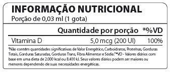 Vitamina D3 Gotas 60ml Atlhetica Nutrition  - Vitta Gold