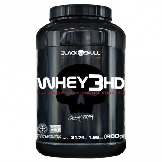 Whey 3HD 900g Black Skull  - Vitta Gold
