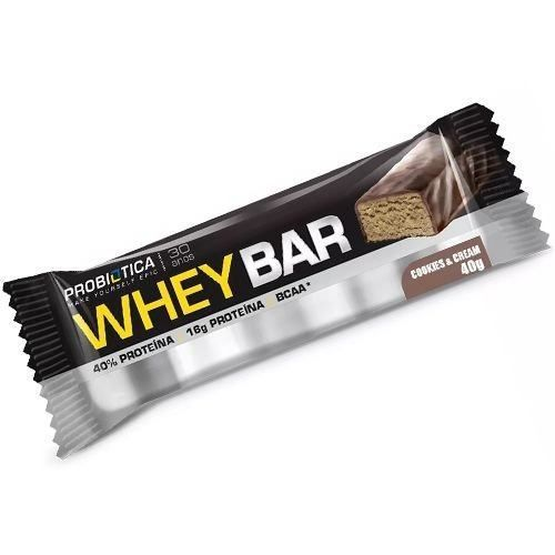 Whey Bar 40g Probiótica  - Vitta Gold