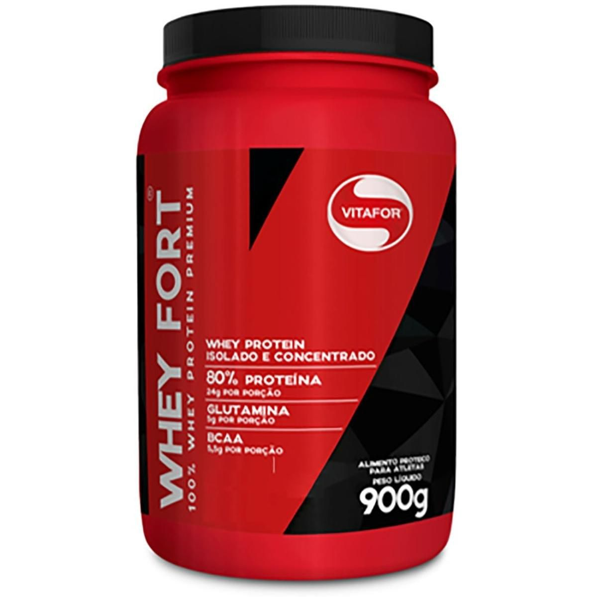 Whey Fort 900g Vitafor  - Vitta Gold