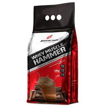 Whey Muscle Hammer 1,8kg Body Action - Vitta Gold
