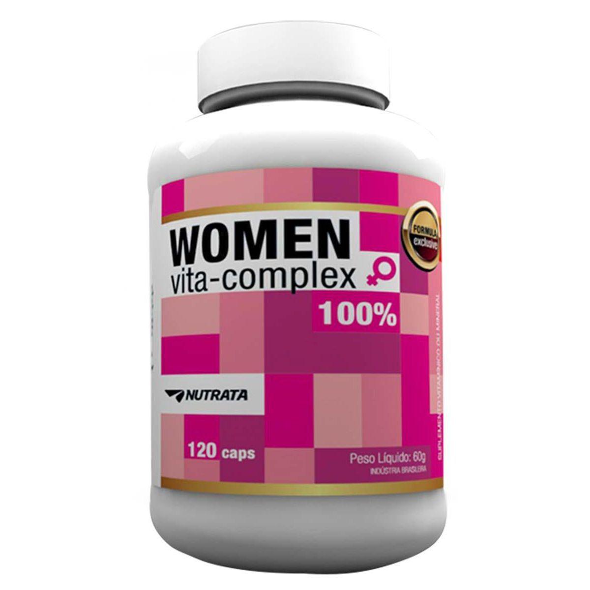 Women Vita Complex 120 Cápsulas Nutrata  - Vitta Gold