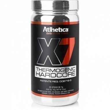 X7 Thermogenic Hardcore 20 sticks Atlhetica Nutrition  - Vitta Gold