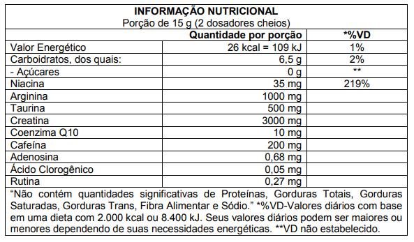 X Pre-Workout 225g Atlhetica Nutrition  - Vitta Gold