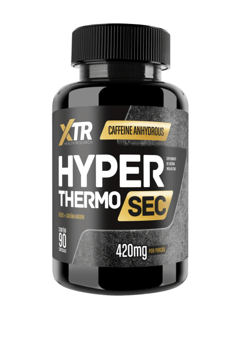 Hyper Thermo Sec Cartamo c/ Cafeína  90caps - XTR