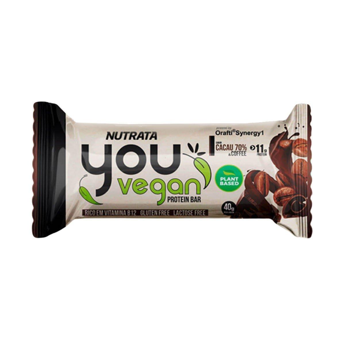 You Vegan Protein Bar 40gr - Nutrata