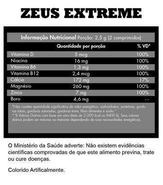 Zeus Extreme 60 Comprimidos Iridium Labs  - Vitta Gold