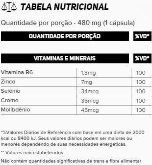 ZMA Cromo 100 Cápsulas New Millen  - Vitta Gold