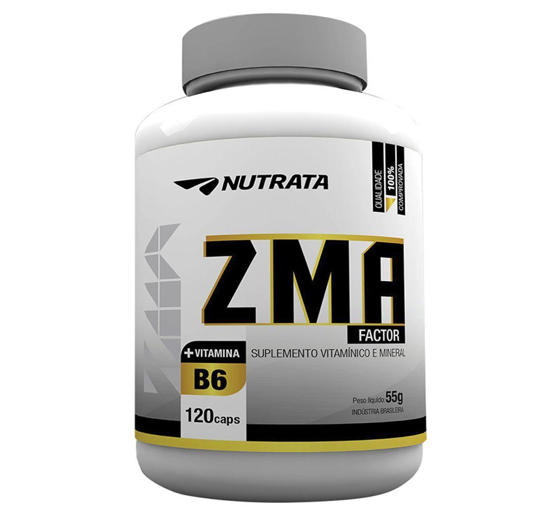 ZMA Factor 120 Cápsulas Nutrata
