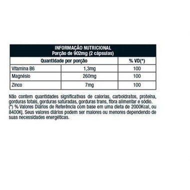 ZMA Factor 120 Cápsulas Nutrata  - Vitta Gold