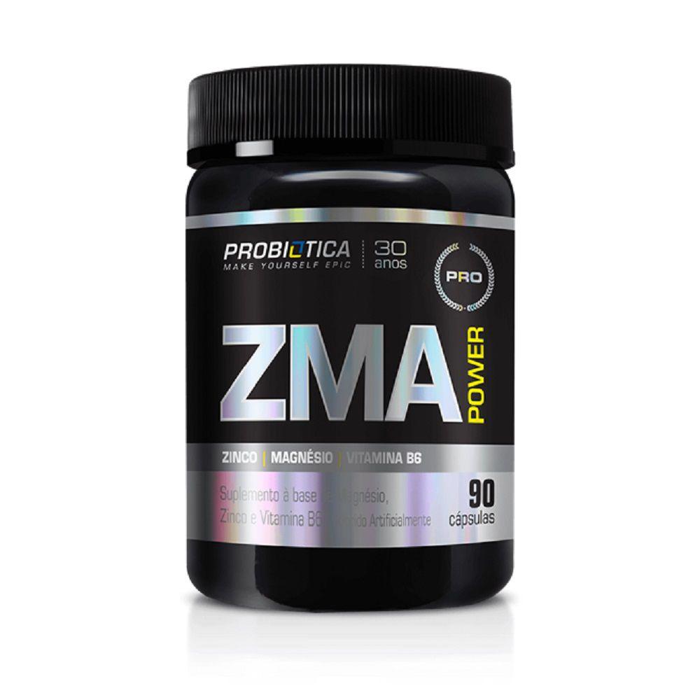 ZMA Power 90 Cápsulas Probiótica  - Vitta Gold