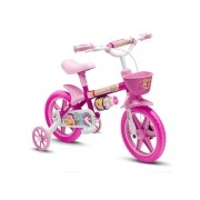 BICICLETA INFATIL NATHOR FLOWER - ARO 12