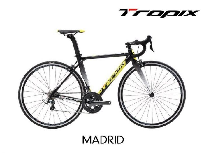 BICICLETA TROPIX MADRID - ARO 700 - 20V