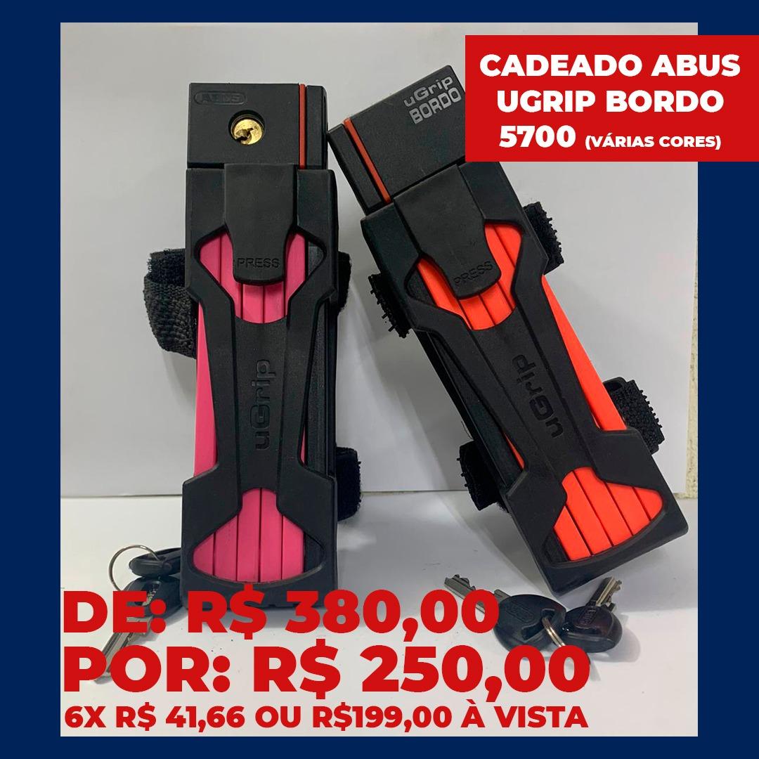 CADEADO ABUS - UGRIP BORDO 5700/80
