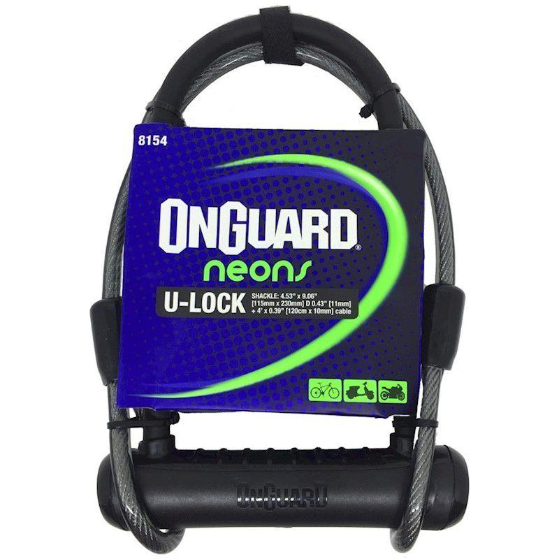 CADEADO ONGUARD NEON 8154 - U-LOCK