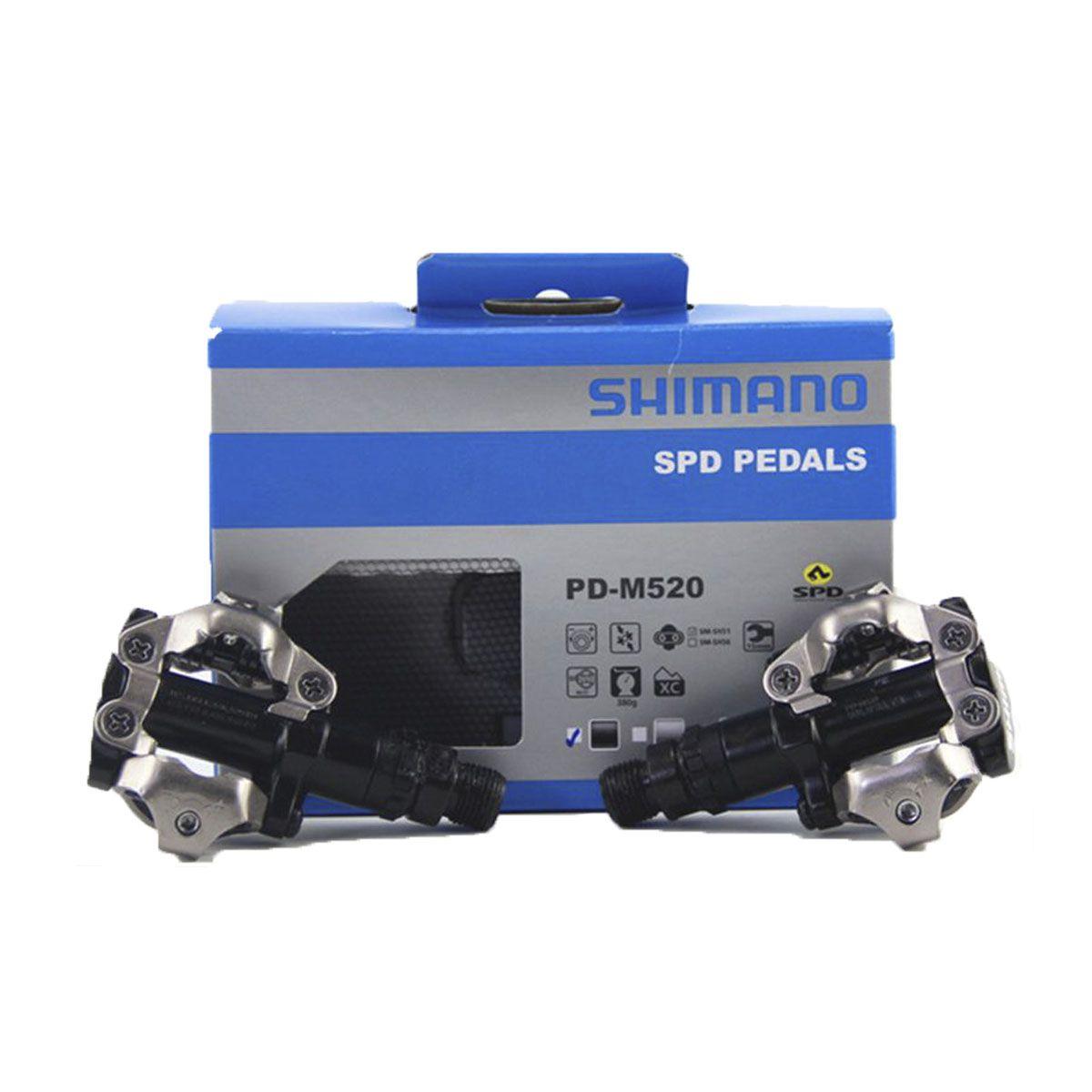 PEDAL SHIMANO - PD M520