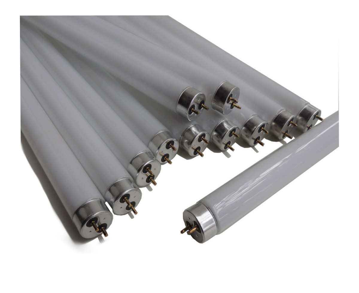 12 Lâmpadas UV T8 Bl 15w Tubular p/ Armadilha Luminosa 45cm