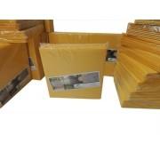 Kit 100 Refil Adesivo 45x22 cm Amarelo para Armadilhas Luminosas