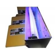 Kit 100 Refil Adesivo 47x22 cm Amarelo para Armadilha Luminosa