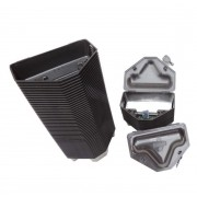 Kit 10 Porta Iscas Com Chave + 25 Blocos Gramper
