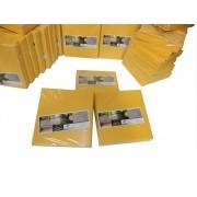 Kit 200 Refil Adesivo 45x22 cm Amarelo para Armadilhas Matar Moscas