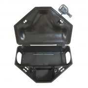 Kit 40 Porta Isca C/ Chave + 40 Venenos(girassol