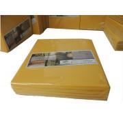 Kit 40 Refil Adesivo 45x22 cm Amarelo para Armadilhas Matar Moscas