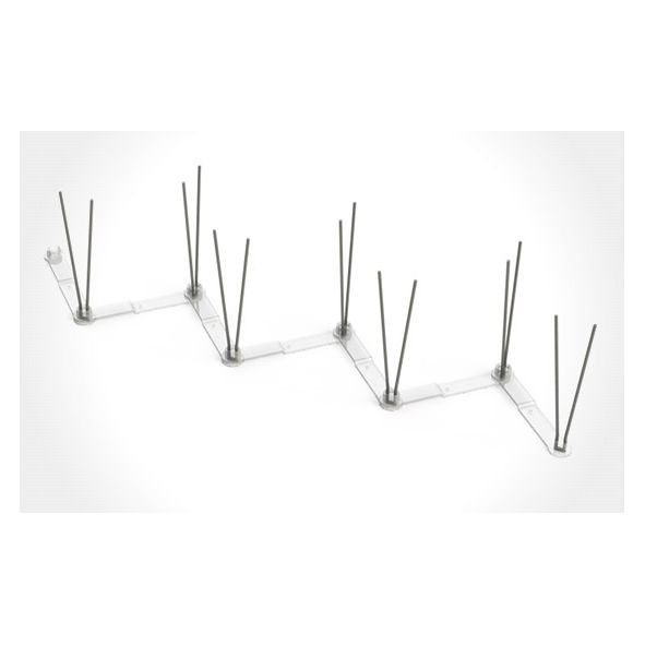 4 caixas Espícula reforçada Anti Pombo (14 metros lineares)
