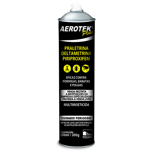 Aerotek Plus - 100% Original Praletrina, Deltametrina, Piriproxifem