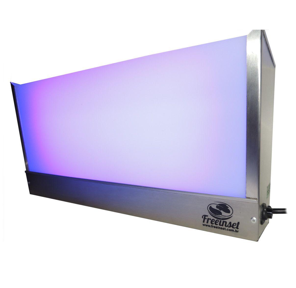 Armadilhas Luminosas TOP, 15w, até 25m², Bivolt, Aço Inox Escovado