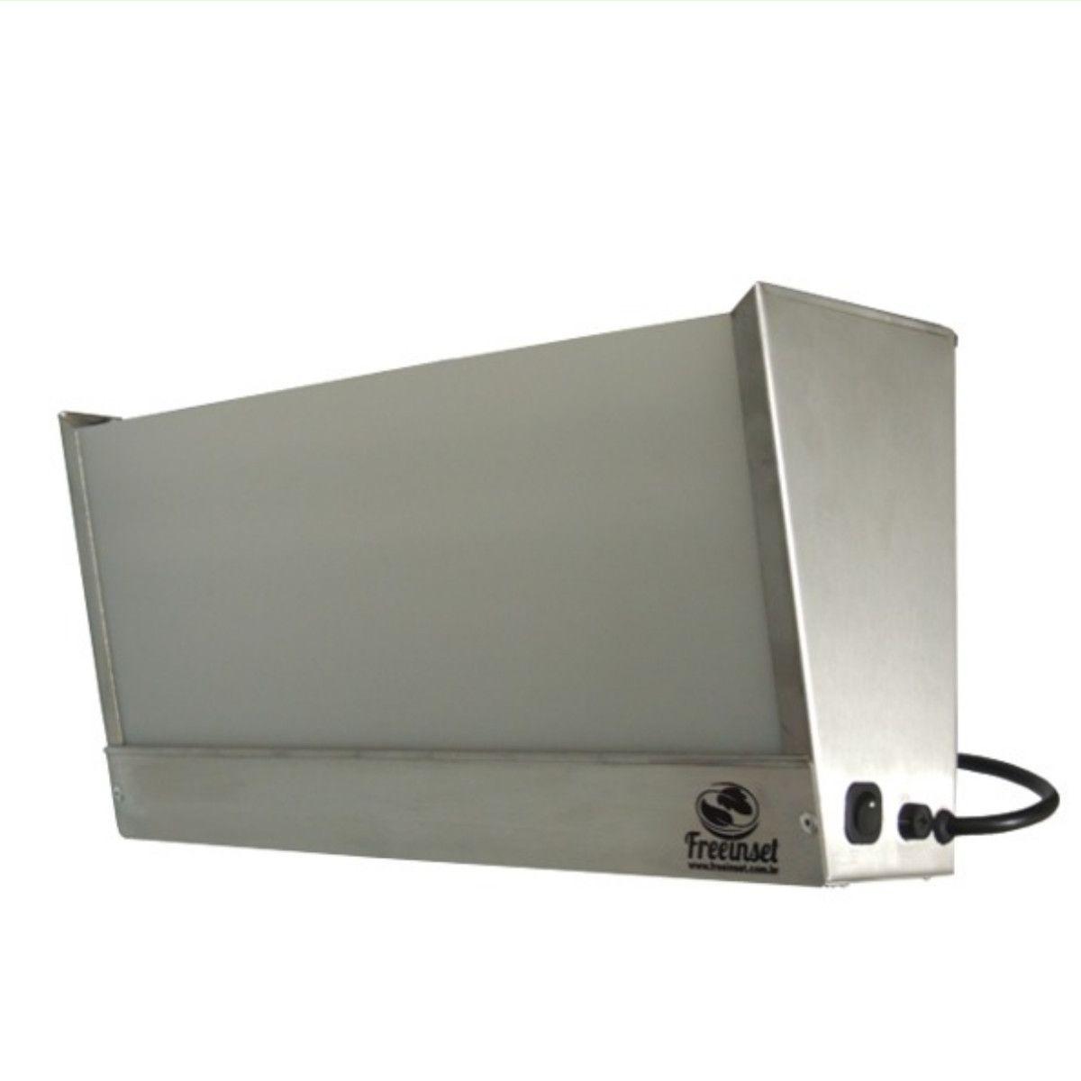 Box 1 Armadilha Luminosa Matar Mosca mosquito Inox 15w 25m2