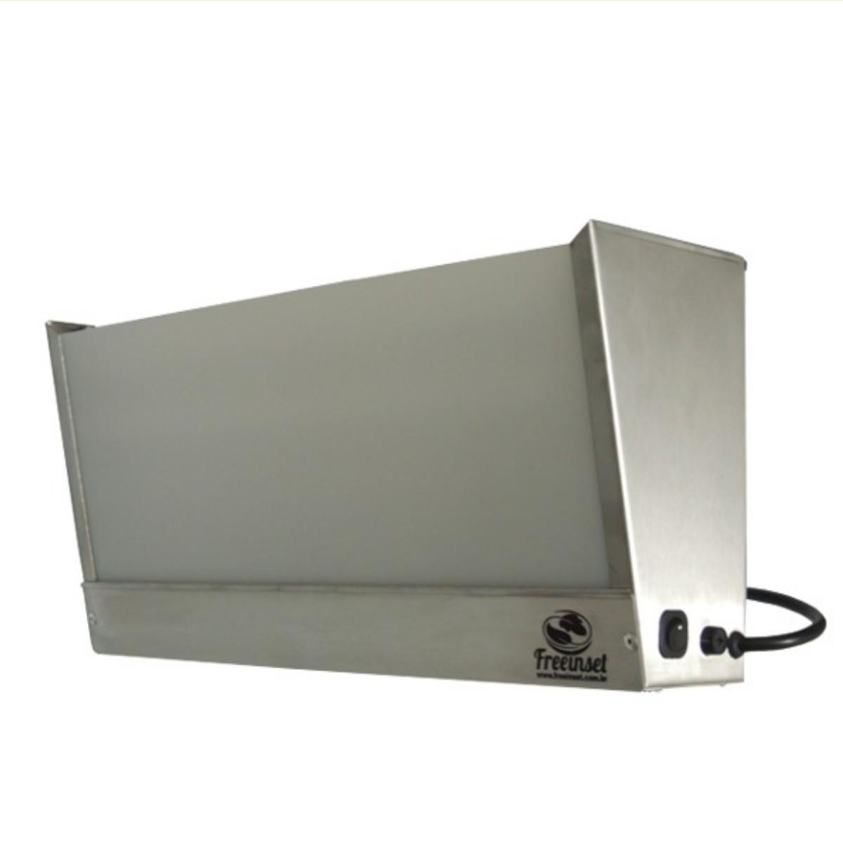 Box 1 Armadilha Luminosa Matar Mosca mosquito Inox 60w 110m2
