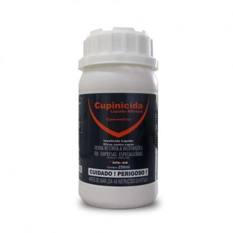 Cupinicida nitrosin 250ML - cipermetrina - mata cupim
