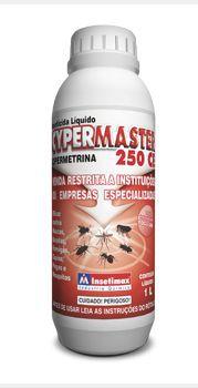 CYPERMASTER 250 CE - Cipermetrina - mata baratas, moscas, cupim, pulgas