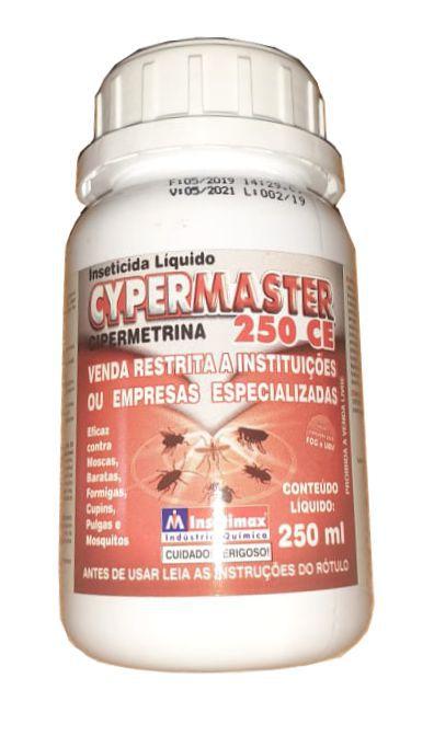 CYPERMASTER 250Ml - Cipermetrina - mata baratas, moscas, cupim, pulgas