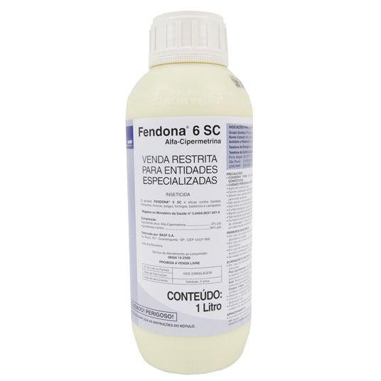 Fendona 6 Sc - Alfa-cipermetrina - BASF mata barata, moscas, pulgas, carrapatos, barbeiro