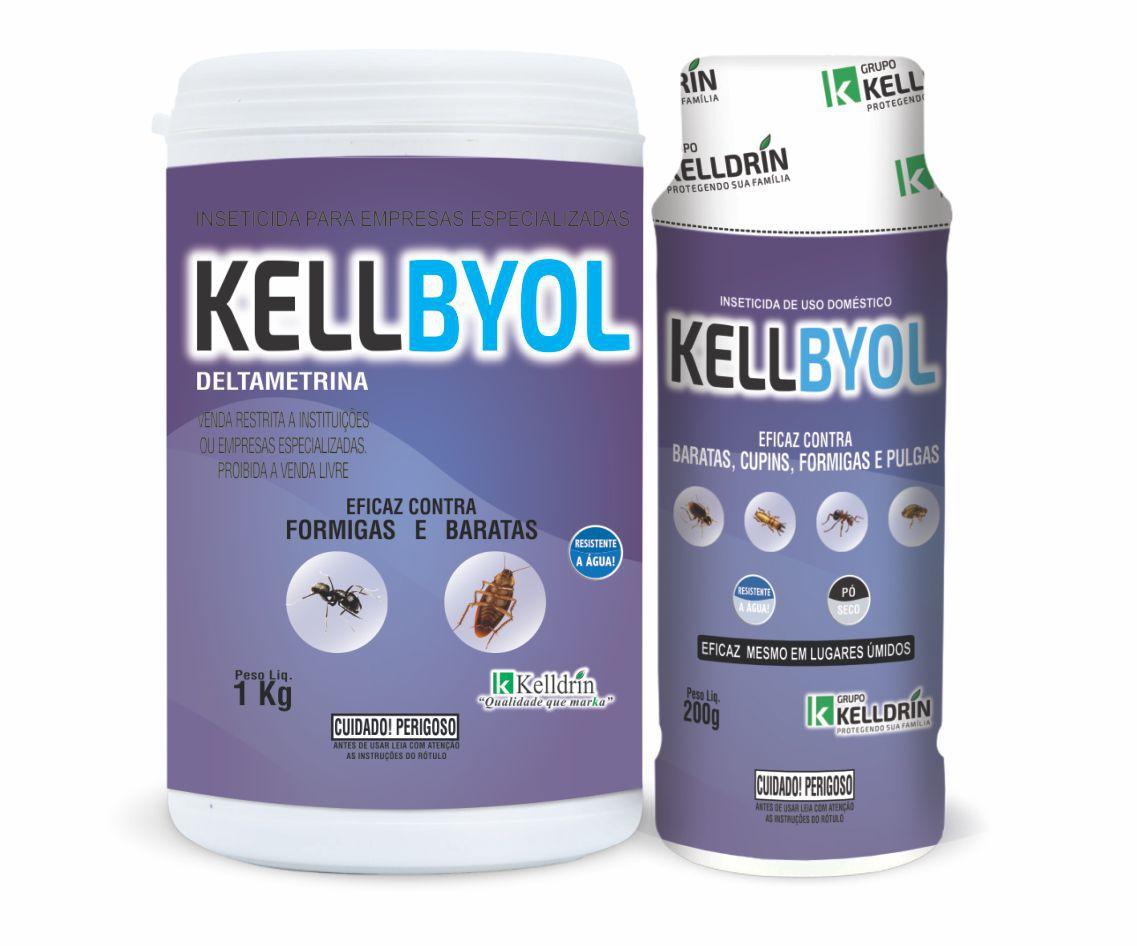 KELLBYOL PROFISSIONAL - Deltametrina - 1kg - Kelldrin mata baratas e formigas