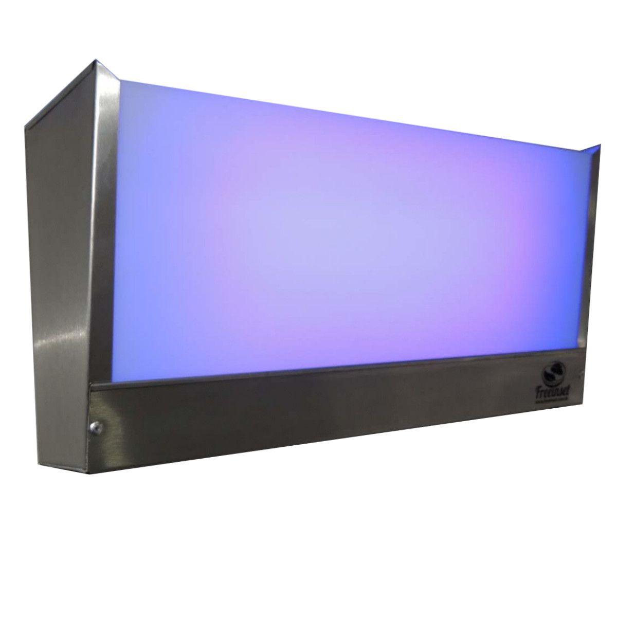 Kit 3 Armadilhas Luminosas 1 Lâmpada -inox Escovado - Moscas