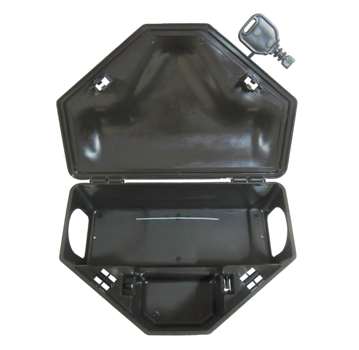 Kit 8 Porta Isca C/ 2 Chaves + 8 Bloco Extrusado Mata Seca