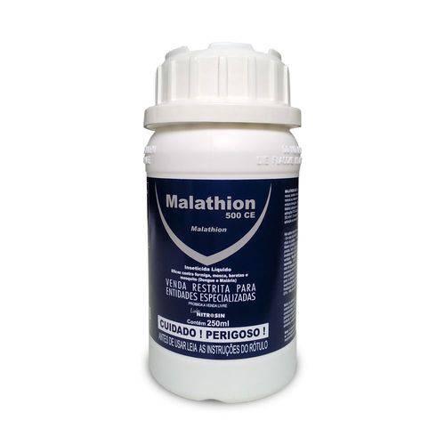 Malathion 500CE - nitrosin 250ML - mata dengue, malária, mosquitos, formigas, baratas