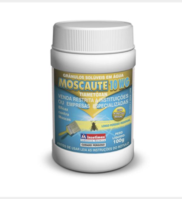 MOSCAUTE 10 WG 100 g - Insetimax - tiametoxam mata moscas
