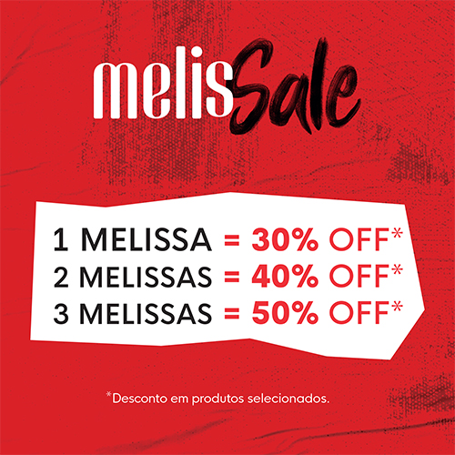 3 MELISSAS =  50% OFF