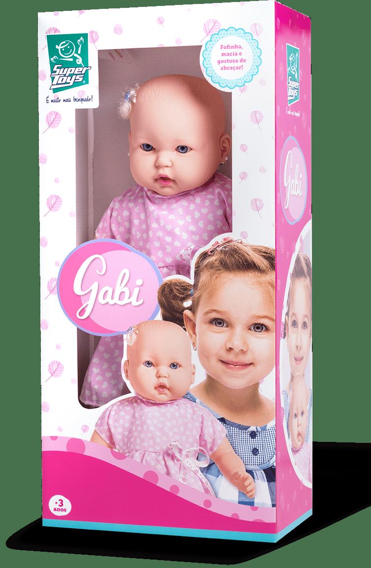 Boneca Gabi Super Toys Ref. 330