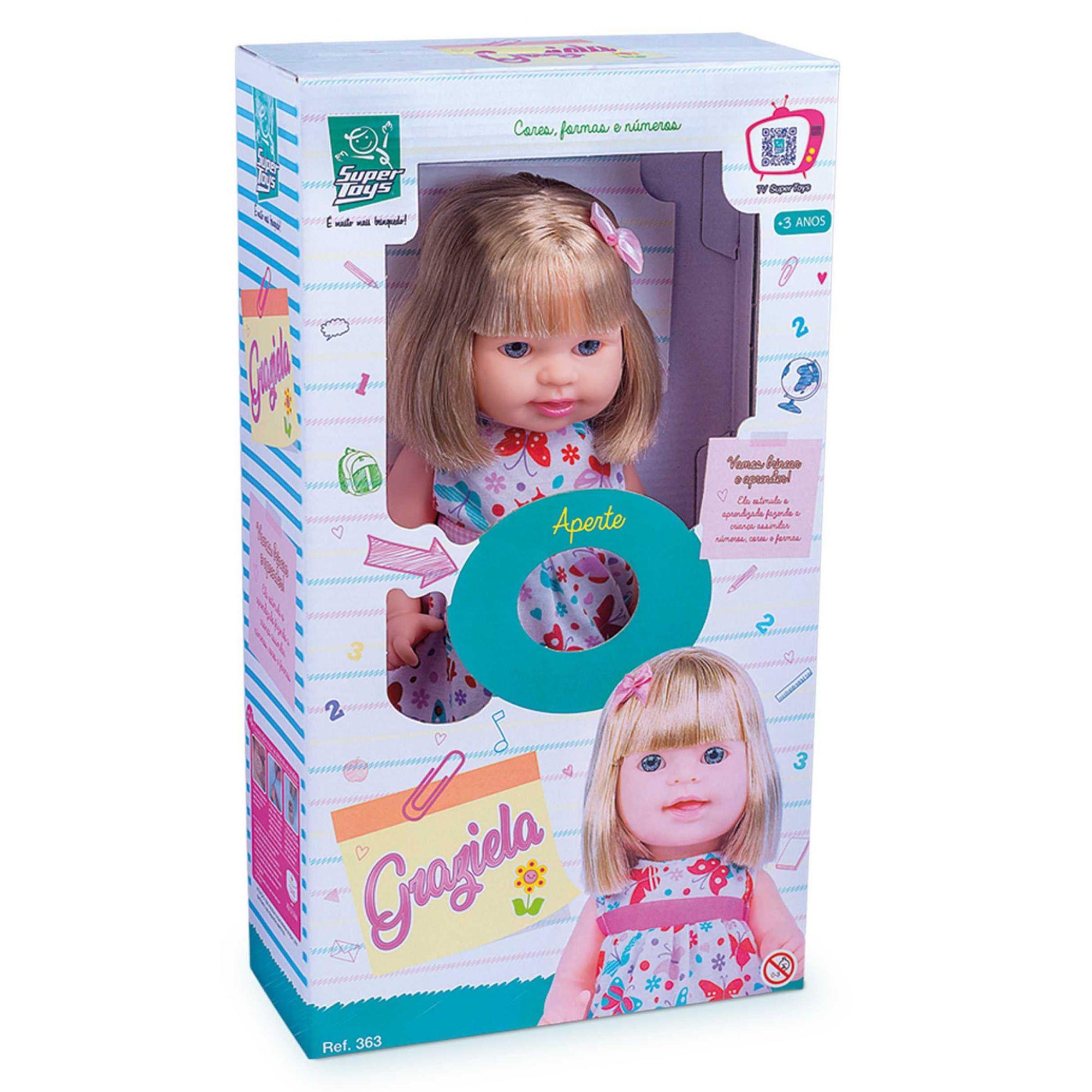 Boneca Graziela Super Toys Ref. 363
